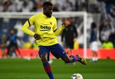 Barcelona busca la salida del defensor Samuel Umtiti, quien tendría oferta del Lyon