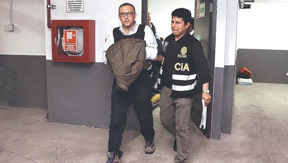 Equipo especial investiga a Pier Figari por presunto lavado de activos.