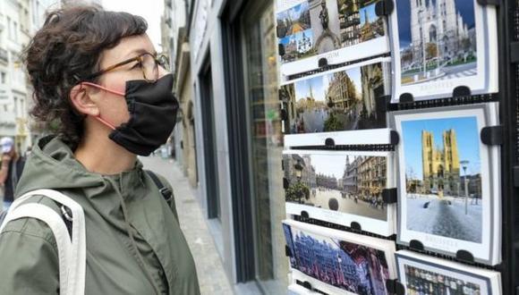 Bélgica es uno de los países preocupados por el aumento de casos de coronavirus. (EPA).
