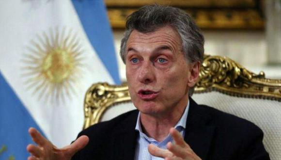 """El presidente de Argentina, Mauricio Macri, también reiteró su compromiso """"de cooperar y dialogar con todos los que haga falta"""" para lograr acuerdos. (Foto: Reuters)"""