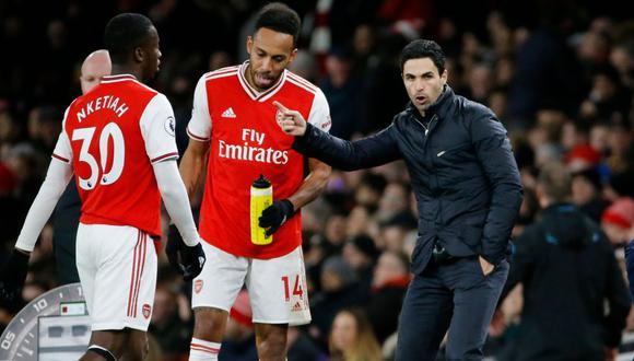 Arsenal venció 3-2 al Everton en un partidazo. (Foto: AFP)