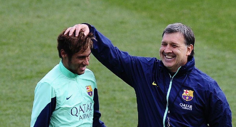 "Martino sobre lesión de Neymar: ""Pudo haber sido peor"""
