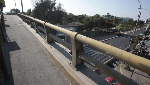 By Pass fue construido durante la segunda gestión de Luis Castañeda. Obra ha generado la protesta de los alumnos. (Foto: GEC)