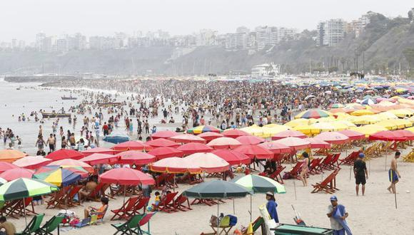 Este verano, la playa luce renovada con nuevas áreas para el beneficio de los bañistas. (Foto: El Comercio)