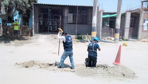 Sunass indicó que los reclamos operacionales fueron por falta de agua en la zona, falta de conexión domiciliaria y problemas con el alcantarillado. (FOTO: GEC)