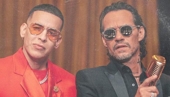 Daddy Yankee anuncia su primera colaboración con Marc Anthony. (Foto: @daddyyankee)