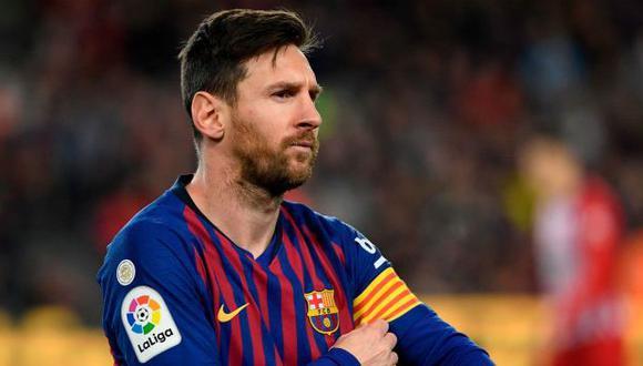 Será la primera vez que veremos a Messi con otra camiseta que no sea la del Barcelona a nivel de clubes. (Foto: AFP)