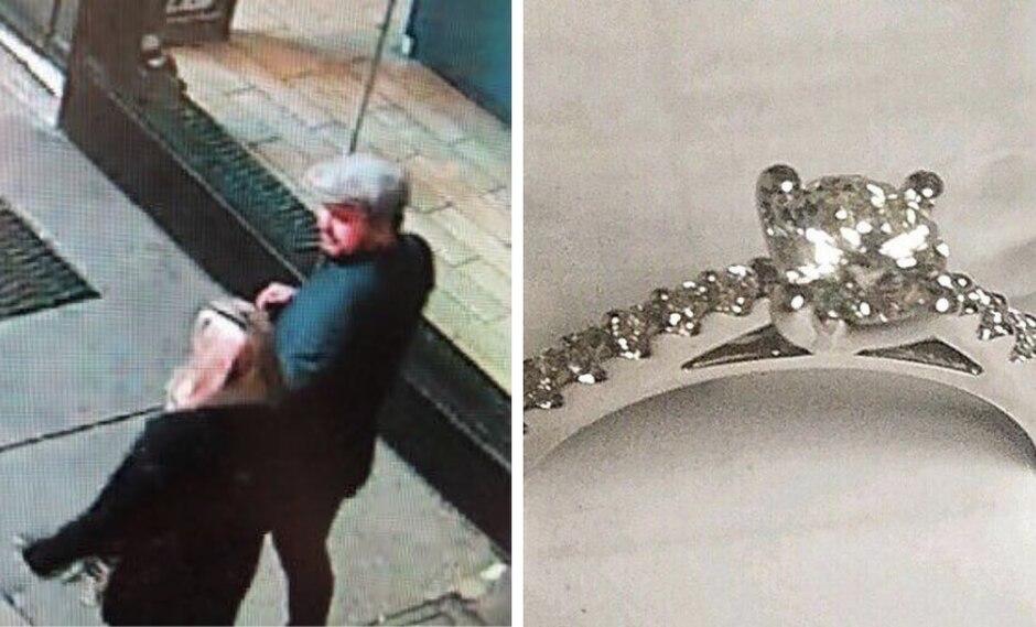 Policía de Nueva York busca a novios cuya propuesta de matrimonio no salió como esperaban. (Foto: @NYPD News en Twitter)