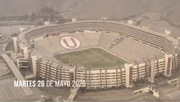 Según el video publicado, la grabación se hizo el 26 de mayo.