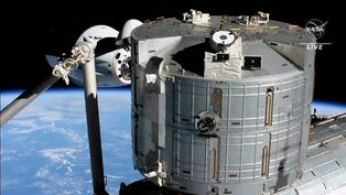 Reciclada cápsula Crew Dragon de SpaceX llevó a nueva tripulación a la ISS