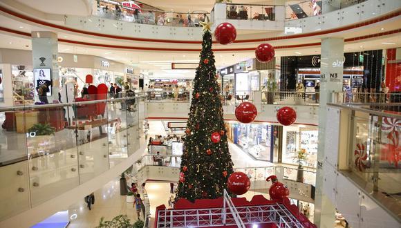 Centros comerciales en campaña navideña. (GEC)