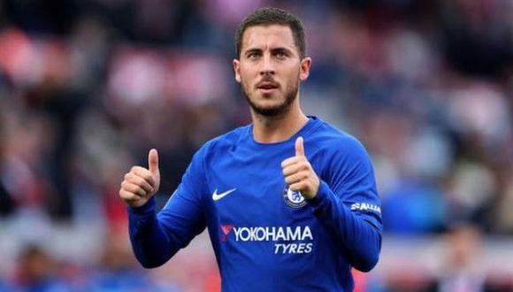 Eden Hazard, jugador del Chelsea, tuvo un gran gesto con pequeño hincha que es viral en YouTube.(Foto:AFP).