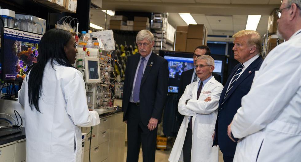 La científica estadounidense trabaja en ensayos clínicos y su papel es crucial en la carrera para desarrollar lo más pronto posible la cura contra el COVID-19. (AP/Evan Vucci).