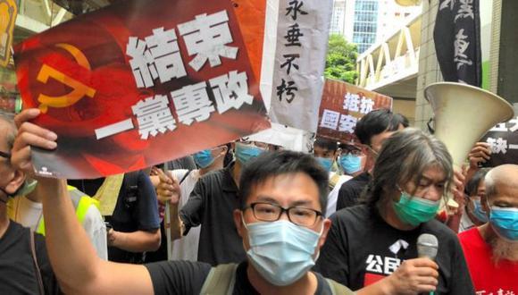 Los movimientos prodemocracia han intentado mantener la relativa autonomía de Hong Kong ante China. (Foto: Getty Images)