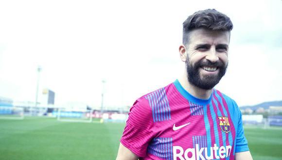 La camiseta del Barcelona para la temporada 2021-22. (Foto: FC Barcelona)