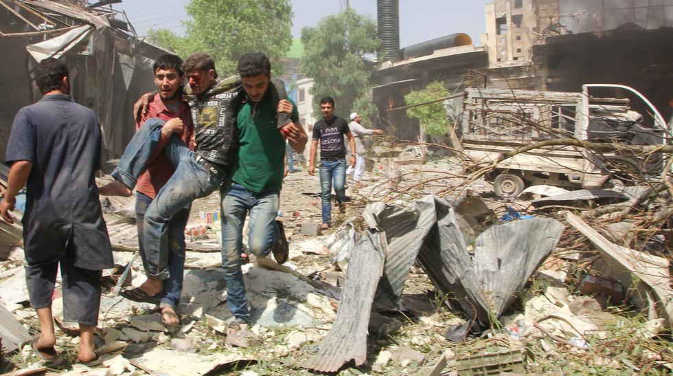 Siria: Mueren 37 tras ataque con barriles de explosivos - 7