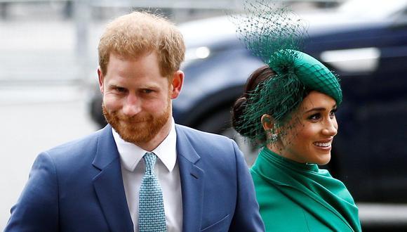 El príncipe Harry y Meghan Markle llegando a la Abadía de Westminster en Londres, Gran Bretaña, el 9 de marzo de 2020. REUTERS / Henry Nicholls / File Photo