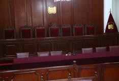 Exmagistrados y exfuncionarios públicos postulan al Tribunal Constitucional