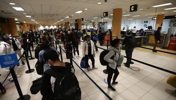Los vuelos internacionales se reanudaron el 5 de octubre. (Foto: Jesus Saucedo / GEC)