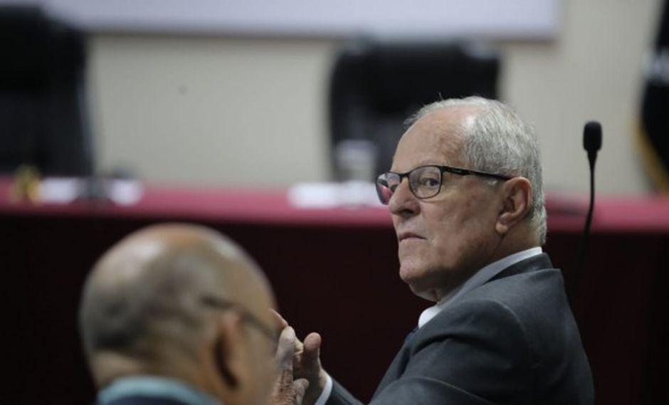 Pedro Pablo Kuczynski podría ser trasladado a un penal si la Sala Penal Nacional de Apelacionesle da la razón al fiscal Pérez. (Foto: GEC)