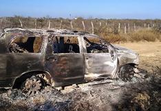 Hallan 19 cuerpos quemados en un vehículo cerca de la frontera entre México y EE.UU.