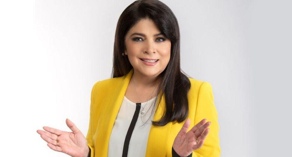 Victoria Ruffo y su reacción ante supuesta llamada de Eugenio Derbez  (Foto: GEC)