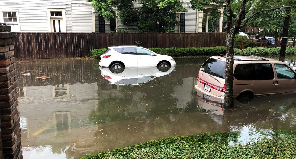 Un área inundada se ve en Nueva Orleans, Louisiana, EE. UU. Foto: Reuters