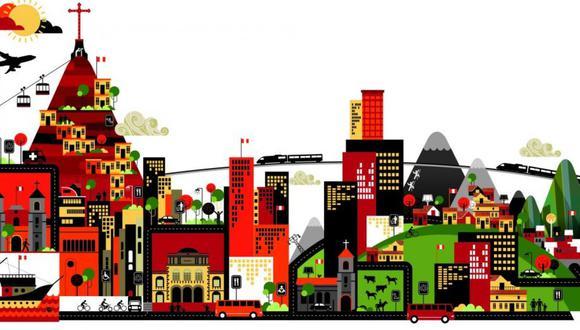 """""""La tecnología tiene un lugar en las ciudades, pero ese lugar no está en todas partes"""". (Iustración: Víctor Sanjinez)"""