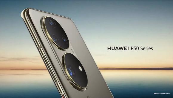 Huawei prepara el lanzamiento de sus próximos celulares P50. (Imagen: Huawei)