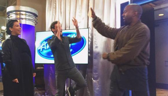 Kanye West pasó cásting en la temporada final de American Idol