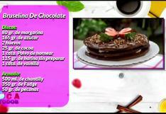 Receta de una deliciosa bruselina de chocolate