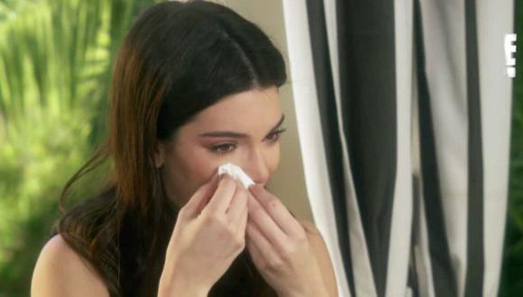 Kendall Jenner se quiebra al escuchar confesión de Bruce Jenner