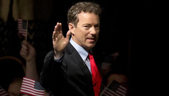 EE.UU.: El republicano Rand Paul lanza su campaña para el 2016