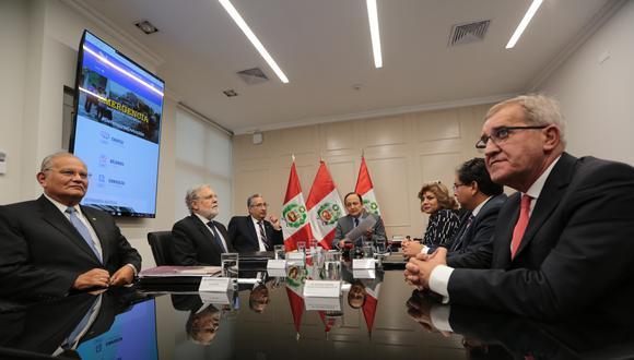 El acto de instalación de la comisión especial se llevó a cabo ayer en la sede de la Defensoría del Pueblo. (Foto difusión)