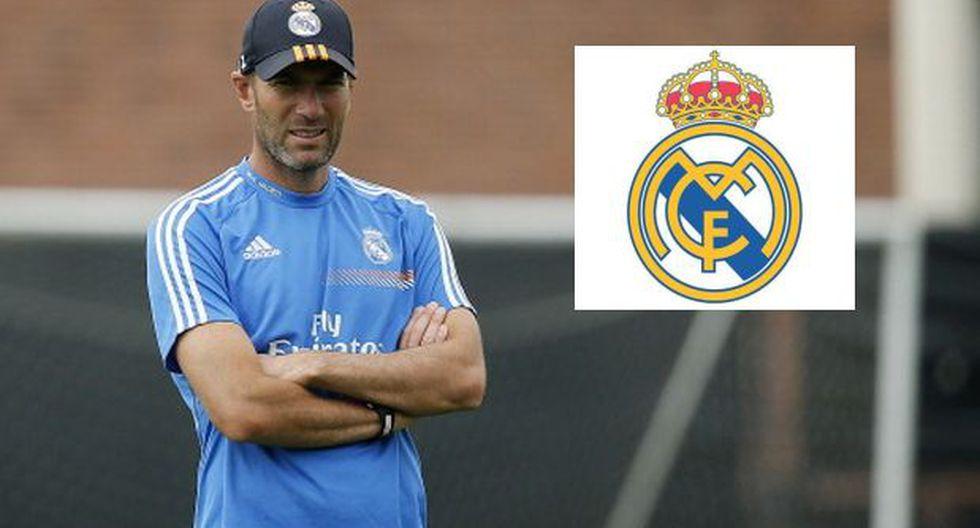 Real Madrid dio apoyo a Zidane por suspensión de tres meses