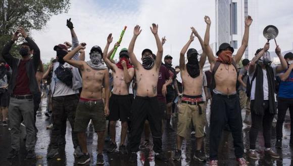 Chile, Bolivia, Ecuador, Honduras y Haití han registrado grandes manifestaciones en las últimas semanas. Foto: Getty images, vía BBC Mundo