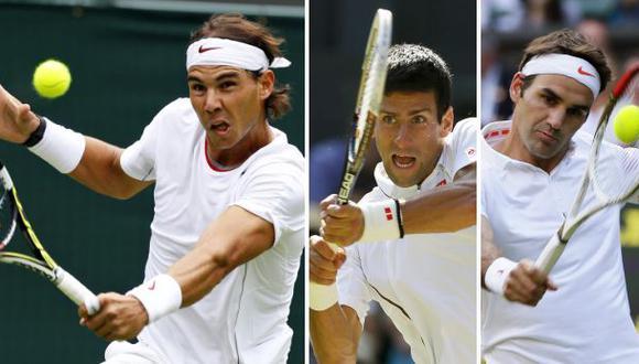 Wimbledon: entérate cuándo juegan Nadal, Djokovic y Federer