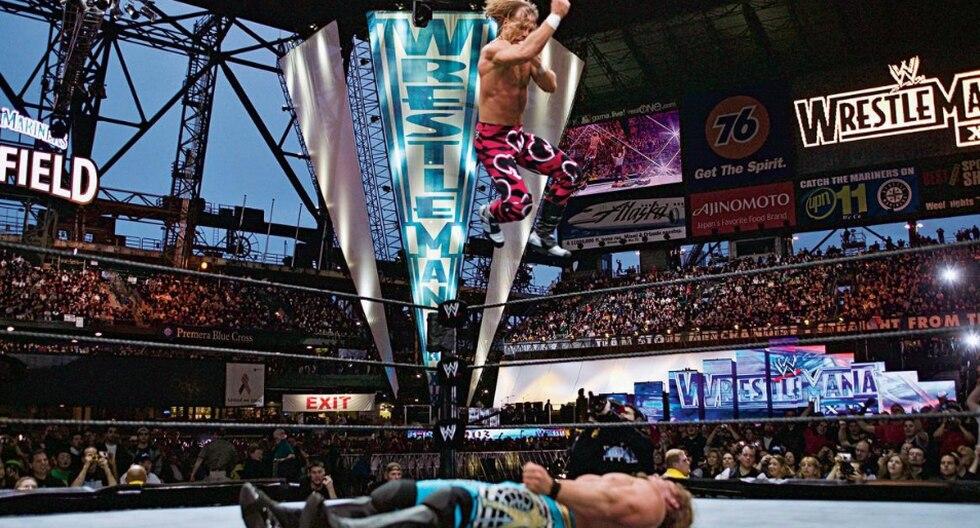 Shawn Michaels vs. Chris Jericho en WrestleMania XIX. (Fotos: WWE.com)