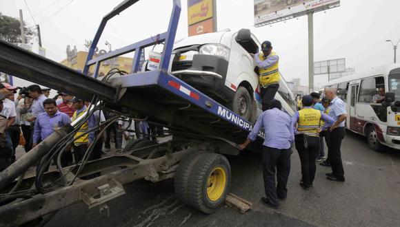 La Municipalidad de Lima, a través del SAT, ha ejecutado 50 operativos hasta fines de febrero.