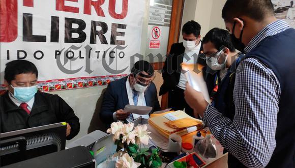 Fiscal Richard Rojas Gómez investiga a Vladimir Cerrón y otros miembros de Perú Libre por el presunto financiamiento ilegal de la campaña electoral de Perú Libre.