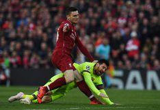 """Robertson reveló que le avergüenza su enfrentamiento con Messi en la pasada Champions: """"Me pasé de la raya"""""""