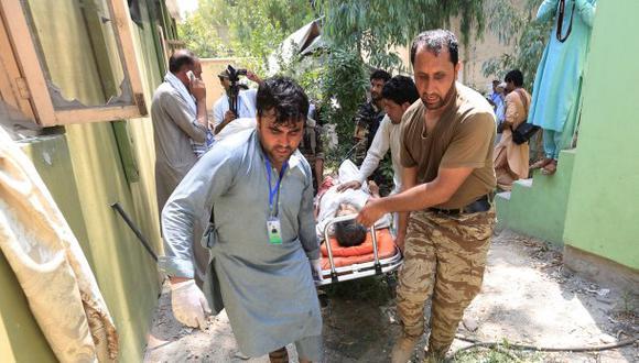 Al menos diez personas murieron y otras tantas resultaron heridas en un ataque insurgente hoy contra el Departamento de Educación de la ciudad de Jalalabad. (Foto: Reuters)