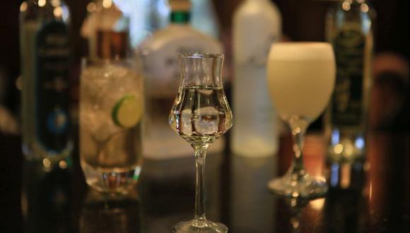 Pisco y algunas de sus bebidas derivadas. (Foto: USI)