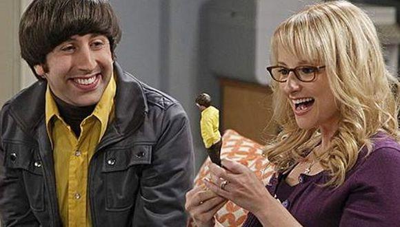"""Howard y Bernadette son la primera pareja en """"The Big Bang Theory"""" en casarse y establecerse en un sólido matrimonio (Foto: CBS)"""
