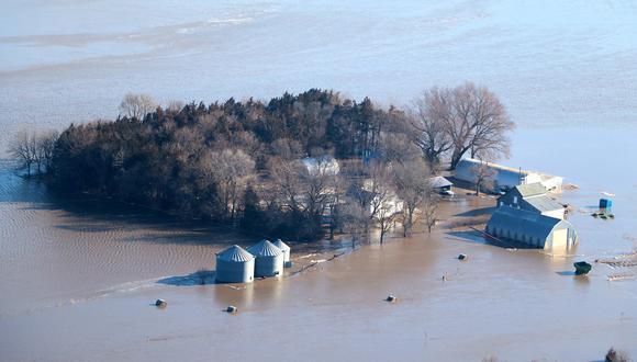Estados Unidos está bajo riesgo de inundaciones sin precedentes. Foto: archivo de AFP