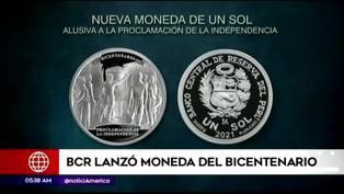 Bicentenario del Perú: BCR emite moneda de plata alusiva a la proclamación de la independencia
