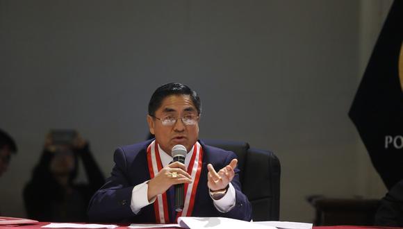 Juez César Hinostroza, presidente de la Segunda Sala Penal Transitoria de la Corte Suprema. (Foto: Archivo El Comercio)