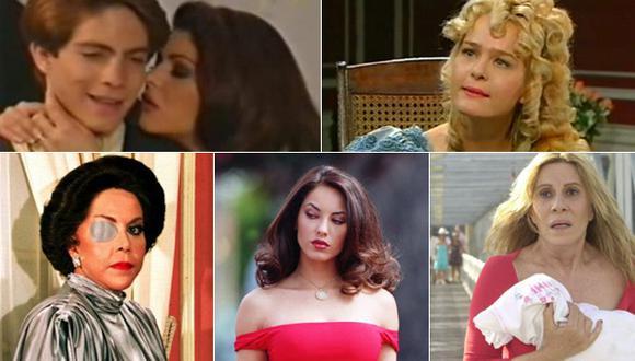Las 10 villanas más recordadas de las telenovelas