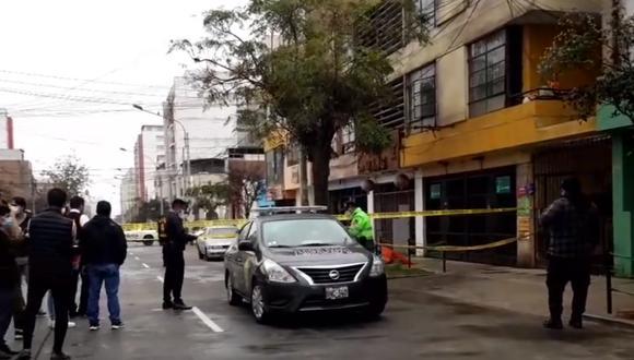 Villanueva Silverio fue asesinado cerca de su domicilio. (Foto: PNP)
