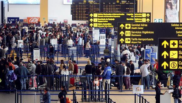 Hacen falta mecanismos de prevención frente al coronavirus en el aeropuerto del Callao, señaló Canatur. (Foto: GEC)